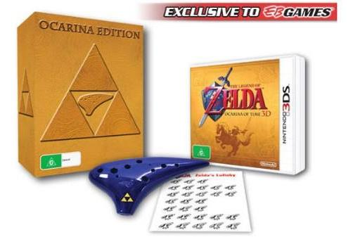 Australia getting its own awesome Ocarina of Time 3D bundle
