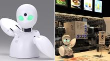 Japan's Mos Burger has a robot cashier operated by employees who are stuck at home