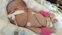 Heartwarming twist for mum told by doctors to 'abort and start again'
