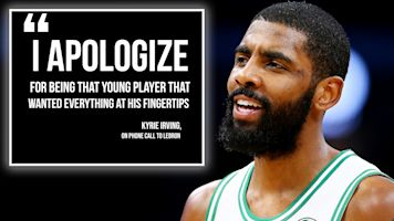 Why Kyrie called LeBron to say he was sorry