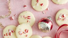 White Chocolate Peppermint Patties