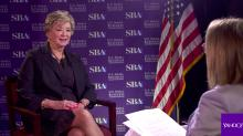 Linda McMahon refuses to criticize Trump's tweets, calls for more 'civility'