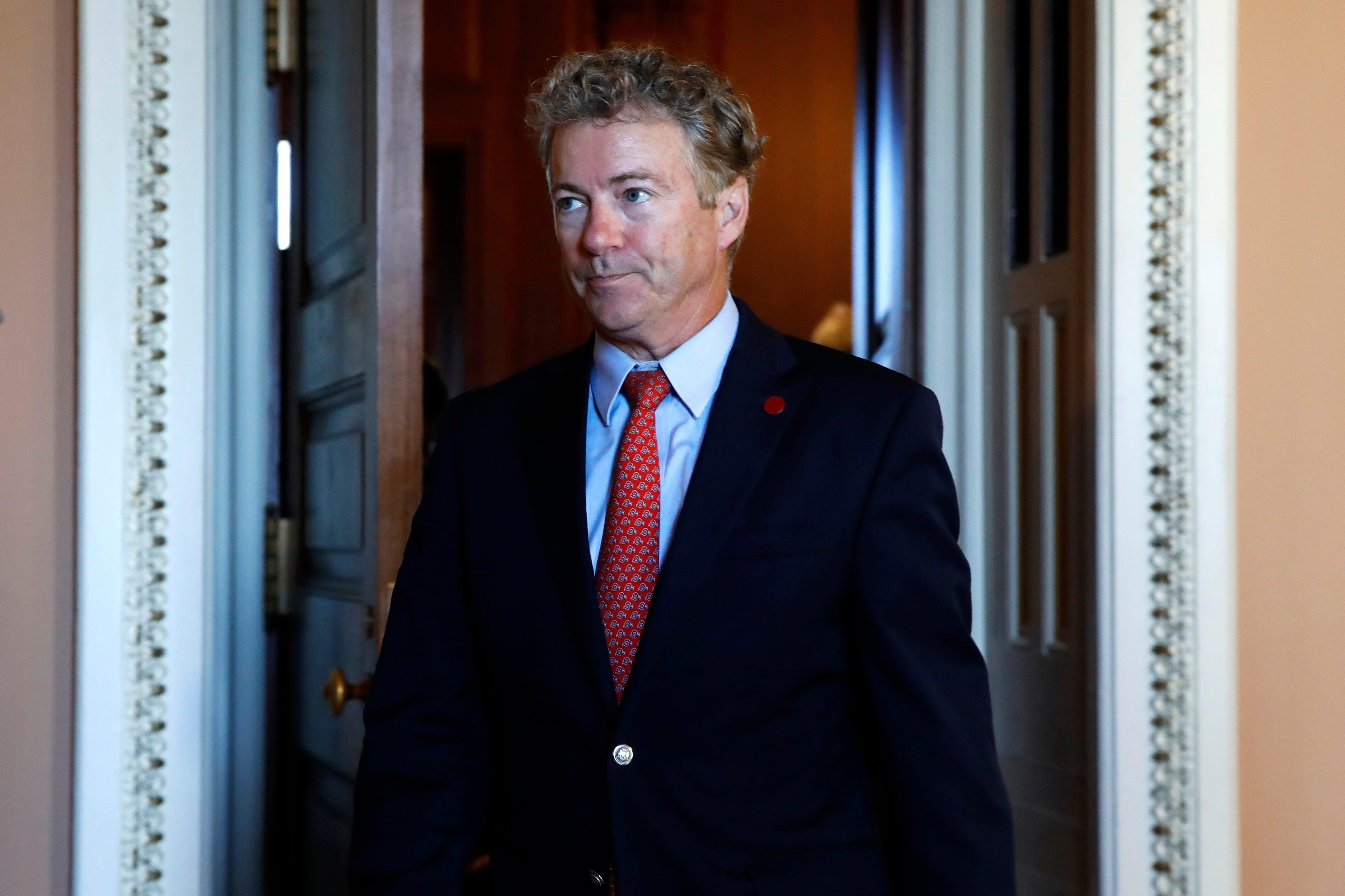Video shows Rand Paul being 'verbally assaulted' by 'aggressive libs,' aide says