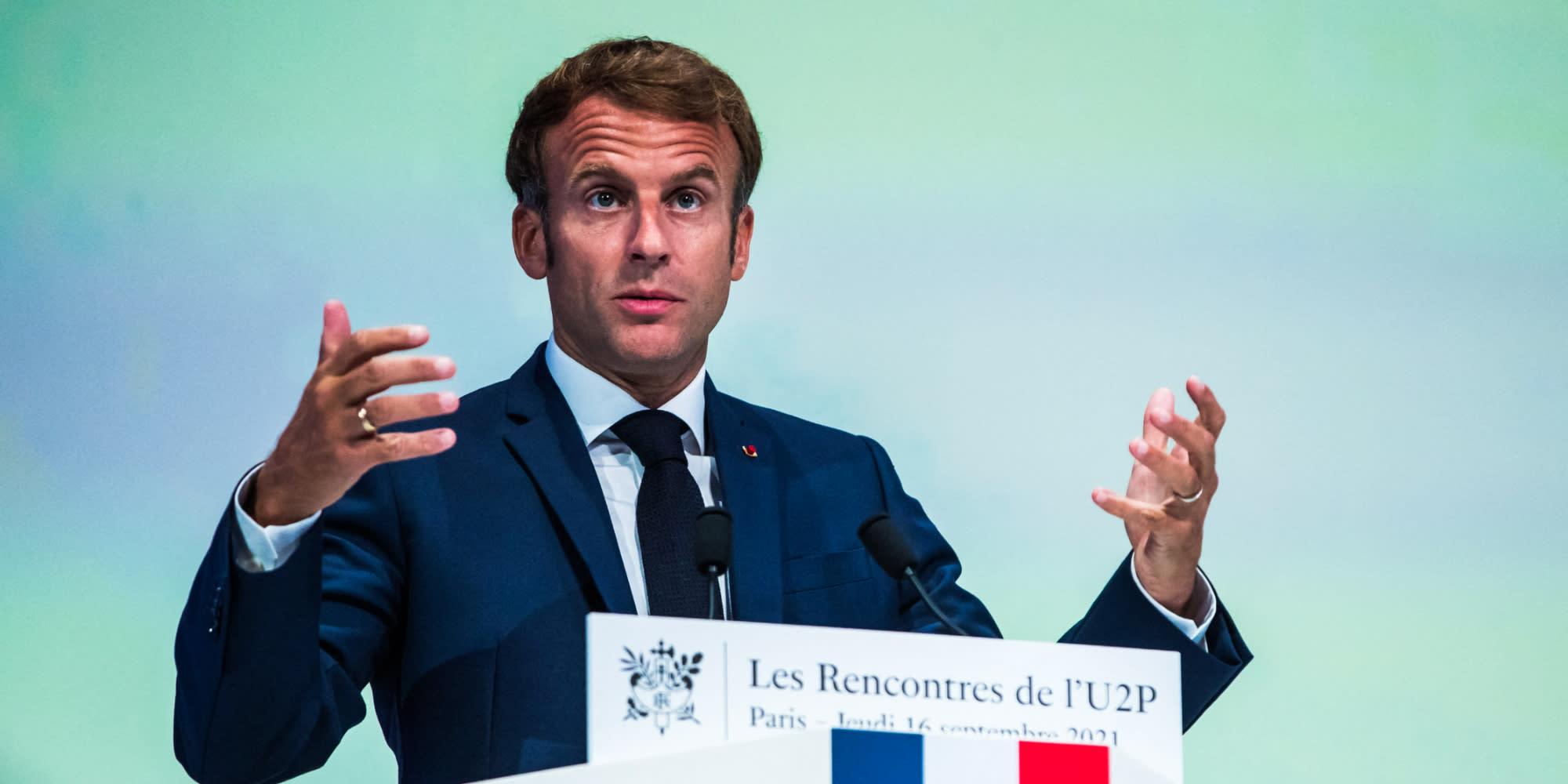 Patrimoine, assurance-chômage… Le plan d'Emmanuel Macron pour les indépendants