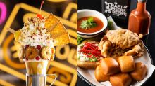 Black Tap gets inspired by Singapore for its new chili crab sandwich and 'Straits Shake'
