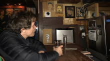 Michael Shannon watched the Academy Awards from a Chicago dive bar