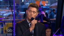 Michael Buble Sings 'God Only Knows'