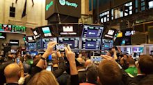 MARKETS: Here's what it's like to stand around waiting for Spotify to trade at the NYSE