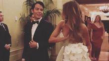Sofia Vergara's Son Brought Taylor Swift to the #Jofia Wedding