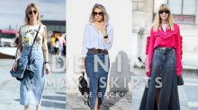 你依舊認為夏天的牛仔裙越短越好嗎?其實,牛仔長裙才是今季的潮流趨勢!