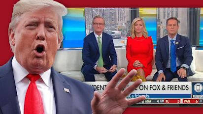 Fox News host challenges Trump on debunked theory