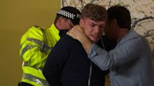 Hollyoaks' Ste and Harry are BOTH arrested tonight
