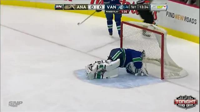 Anaheim Ducks at Vancouver Canucks - 04/07/2014