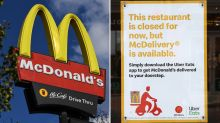 McDonald's goes to delivery only during Melbourne's COVID curfew