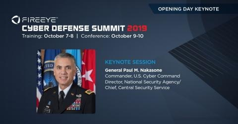 General Paul M. Nakasone to Deliver Opening Day Keynote at FireEye Cyber Defense Summit