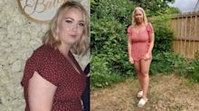Size 20 nursery worker, who ate McDonald's five times a week, sheds four stone in three months