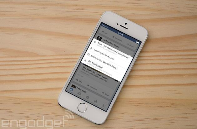 Facebook's new Save feature lets you read top ten lists later