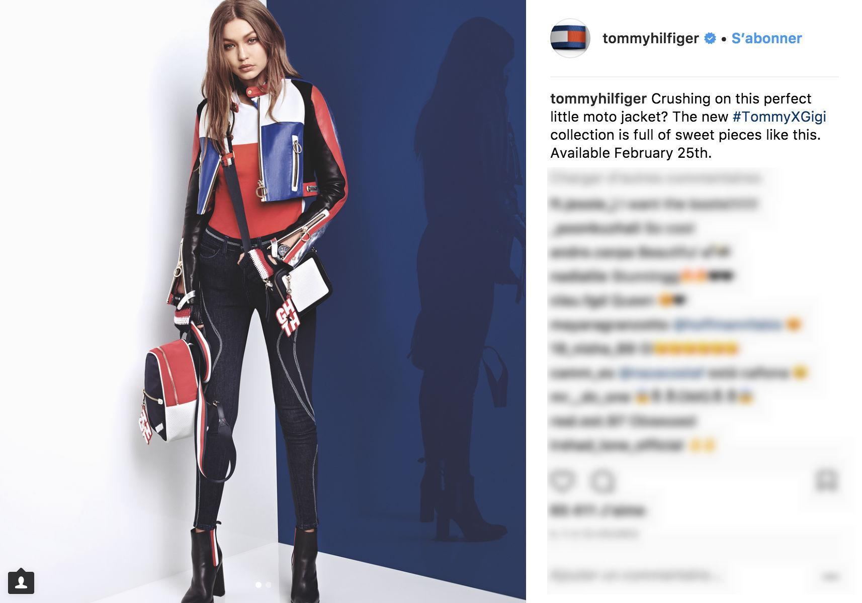 Tommy Hilfiger and Gigi Hadid race ahead for new Spring 2018