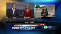 Modesto airport tries to add LA flights