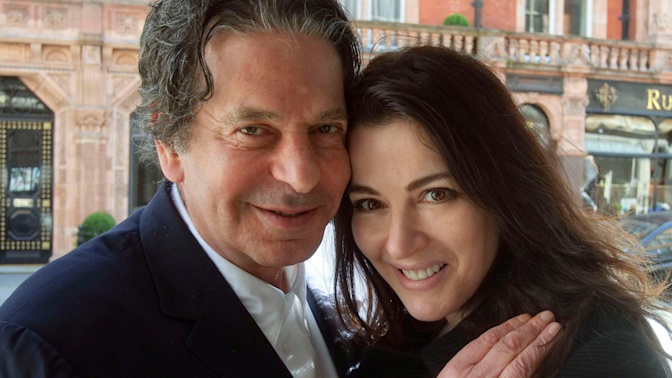Nigella Lawson steps out with Corbynite author once wrongly jailed for killing