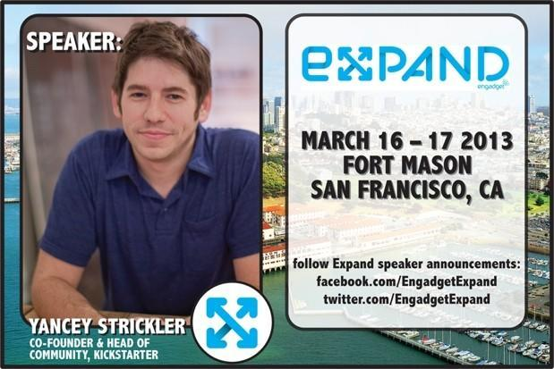 Live from Expand: A conversation with Kickstarter Co-Founder Yancey Strickler (video)