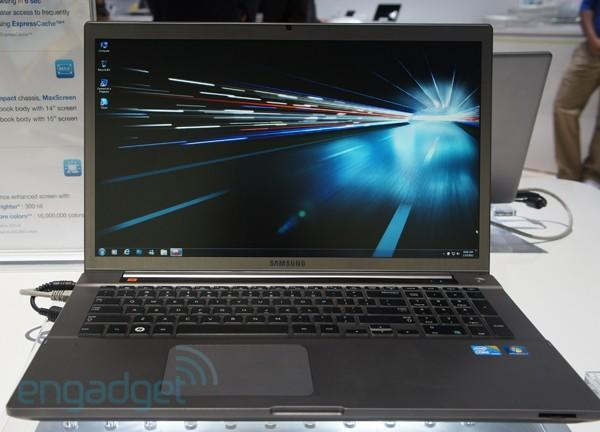 Spotted: Samsung's 17-inch Series 7 Chronos laptop