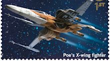 Star Wars-themed stamps to mark release of new film