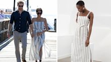 Shop Meghan Markle's perfect striped summer dress for less