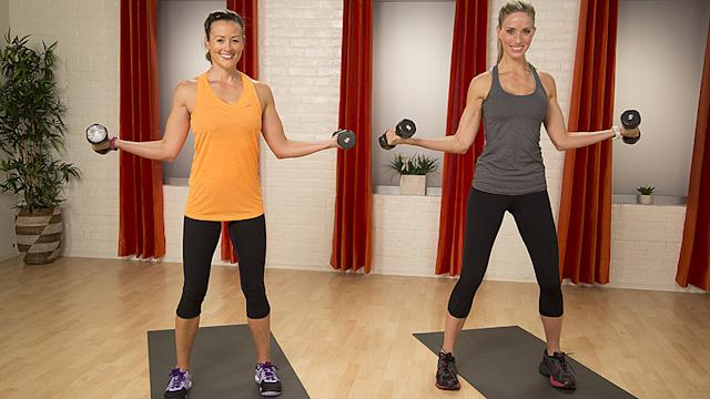 Fit in 5: Sexy Arms and Sleek Shoulders Workout