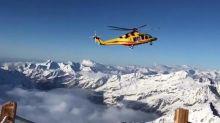 Alpinista precipitato per 100 metri dalla cascata di ghiaccio: gravissimo