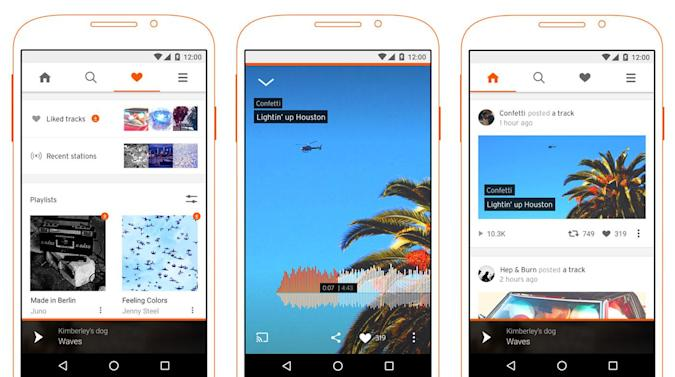 SoundCloud's music streaming service launches in the US