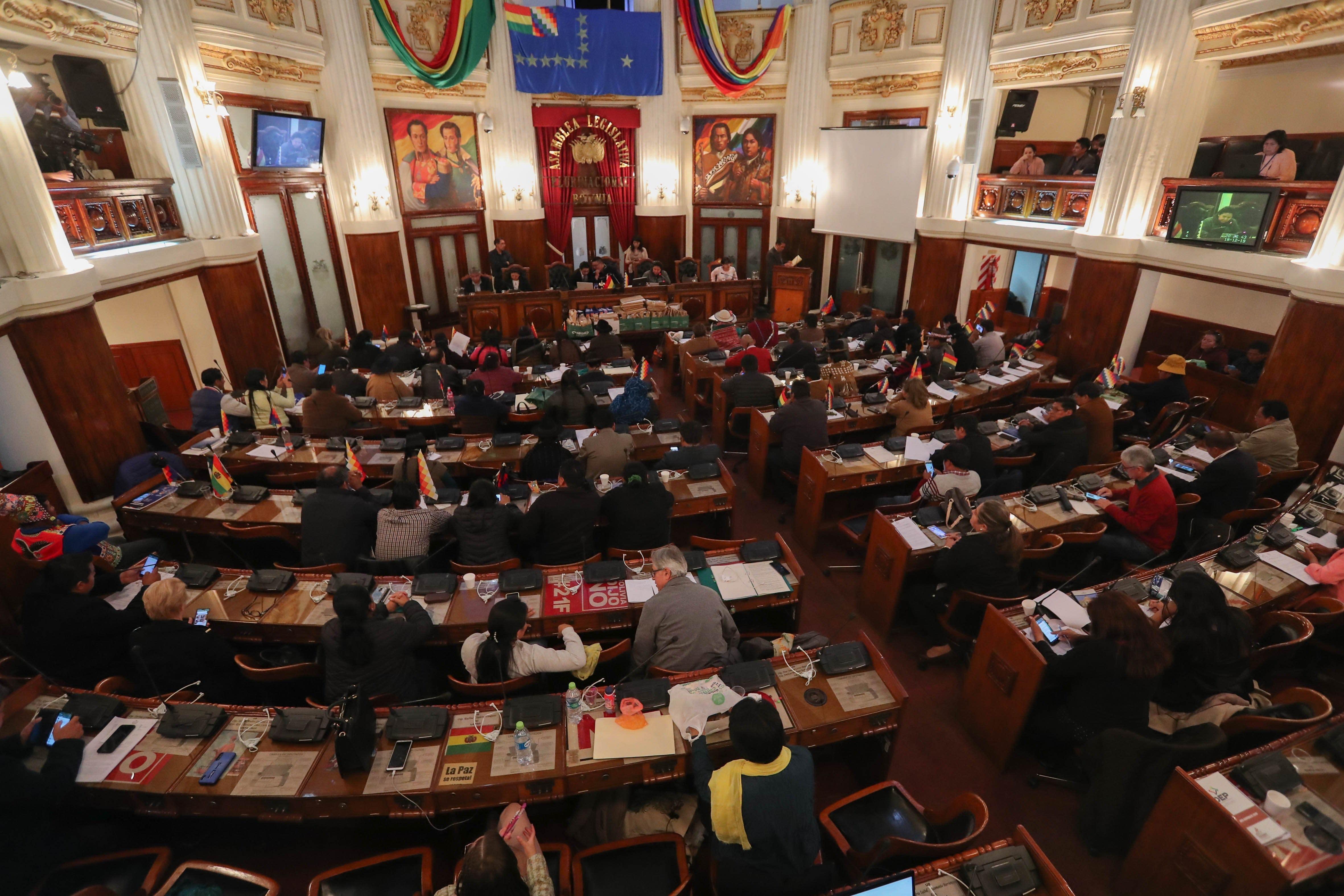El Parlamento Boliviano Comienza A Elegir El Nuevo órgano