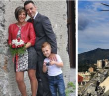 Young couple and their seven-year-old son named among 39 killed in Genoa bridge collapse