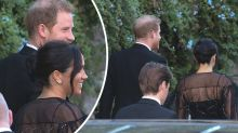 Meghan Markle and Prince Harry 'flew commercial' to friend's Italian wedding