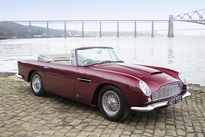 Millions Worth Of Rare Aston Martins Are Up For Sale - 1964 aston martin for sale
