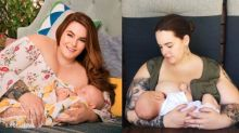 Tess Holliday claps back after sharing breastfeeding photo at Women's March