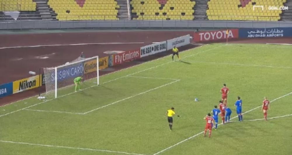 VIDEO: Stoppage time Panenka secures emotional Syria victory