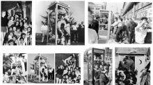 La moda de meterse un gran número de personas dentro de una cabina que ya se practicaba hace medio siglo