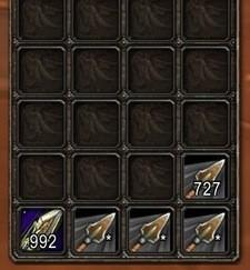 Ammo stacks in 1000, sells in 200
