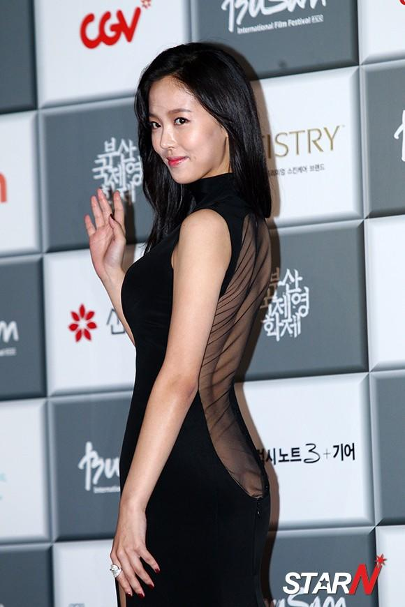 [Photo] Kang Han Na at Busan International Film Festival
