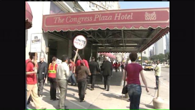 Strike at Congress Hotel over after more than 9 years