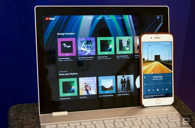 YouTube Music arrives late to the party with room for improvement