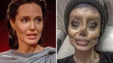 """""""Angelina Jolie Zombie"""" es un timo: maquillaje y Photoshop (y ha borrado las fotos)"""