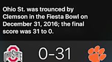 Why Siri's turning a Michael Jordan question into a vicious Ohio State burn