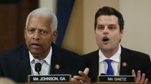 For Gaetz to raise Hunter Biden's substance abuse is 'the pot calling the kettle black,' Johnson says