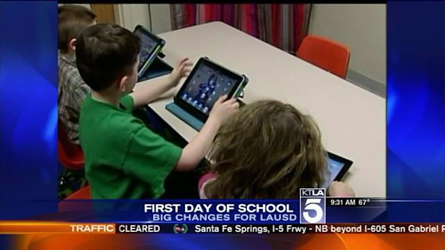 iPads, Healthier Meals Among Changes for LAUSD