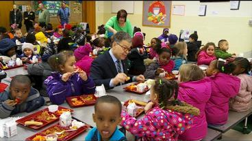 Franken Wants The Federal Gov't To Help Cover School Lunch