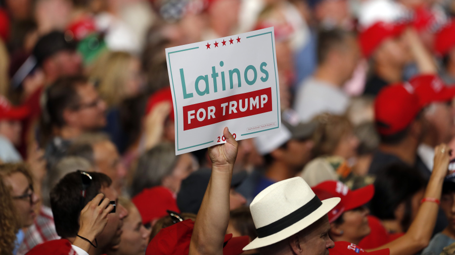 Some Latinos proudly wear their Trump support