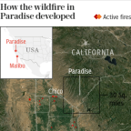 California wildfire becomes deadliest in state's history as toll hits 42