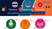 Thailand vs. Vietnam vs. Malaysia, who is leading the e-commerce market in Southeast Asia?